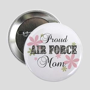 """Air Force Mom [fl camo] 2.25"""" Button"""